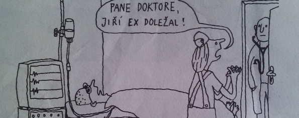 Kreslená anekdota o jxd - Marek Dousa