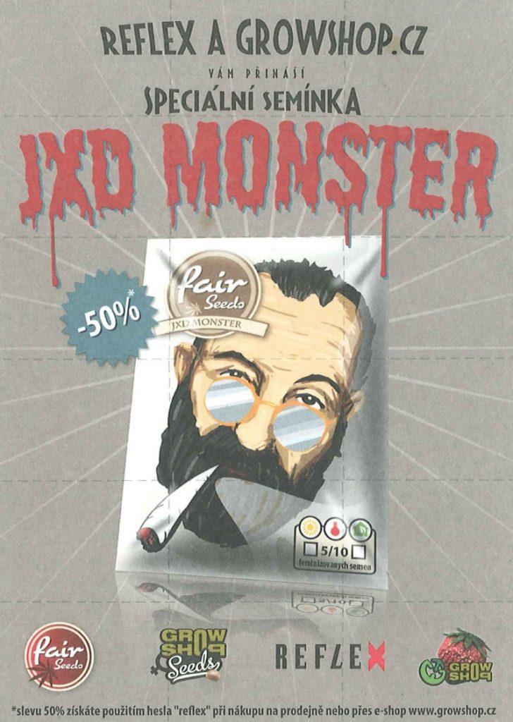 Semínka jxd-monster